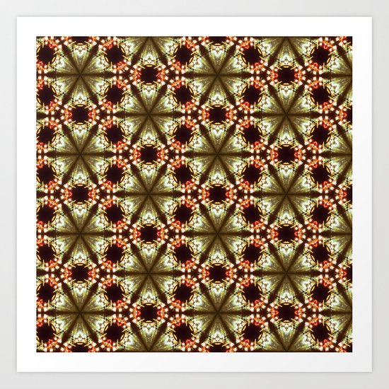 streetlight tessellation Art Print