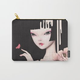 Misty Rose Carry-All Pouch