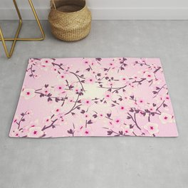 Cherry Blossom Pink Rug