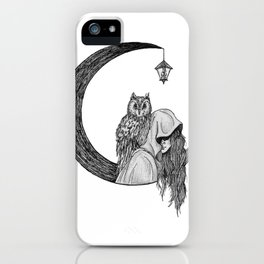 Owl of the Moonlight iPhone Case