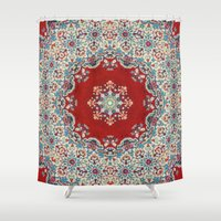 photography Shower Curtains featuring Mandala Nada Brahma  by Elias Zacarias