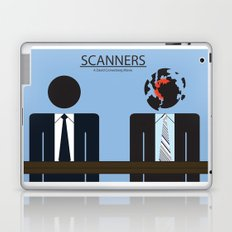 Scanners - Altenative Movie Poster Laptop & iPad Skin