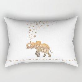 GOLD ELEPHANT Rectangular Pillow