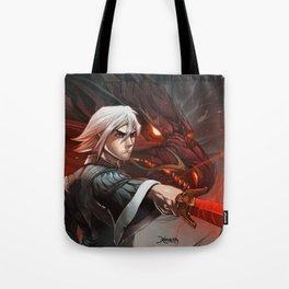 Crimson Legends Tote Bag