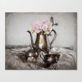 Antique Tea Pot Canvas Print