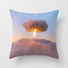 Spark an Idea Throw Pillow