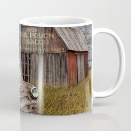 Rusted Pickup Truck with Mail Pouch Tobacco Barn Coffee Mug