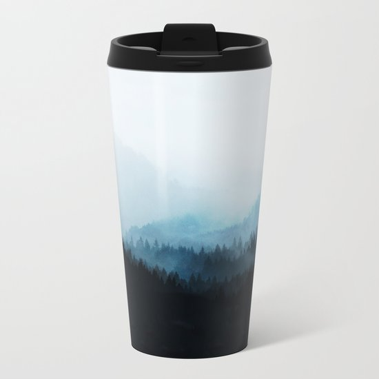Woods 5Y Metal Travel Mug