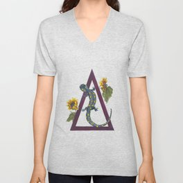 Born From Flame: The Alchemy of Fire Unisex V-Neck