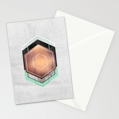 Hexagon Abstract #1 Stationery Cards