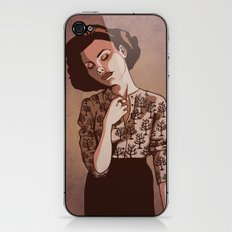 Twin Peaks: Audrey iPhone & iPod Skin