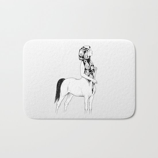 horses for courses I Bath Mat