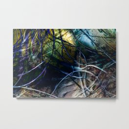 Tangled Web Metal Print