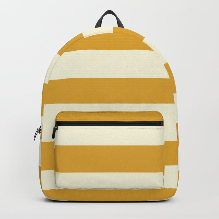 Yellow Stripes Bold Backpack