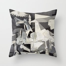 Pablo Picasso Guernica 1937 Artwork Shirt, Art Reproduction for Prints Posters Tshirts Men Women Throw Pillow
