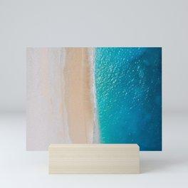 Warm Tropical Beach Mini Art Print