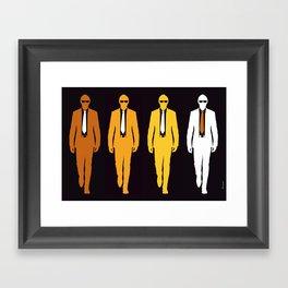 Fourmen Framed Art Print
