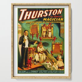 Thurston The Great Magician - Egypt Serving Tray