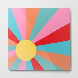Ray of Sunshine 1950s Metal Print