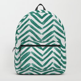 Zigzag - green Backpack