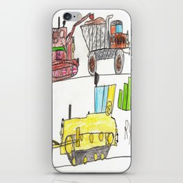 Construction Frenzy iPhone Skin