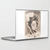 mad Laptop & iPad Skins featuring MAD by Oddworld Art