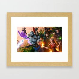 Ready for Battle Framed Art Print