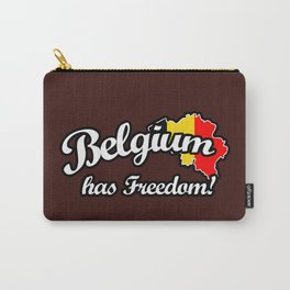 Belgium Has Freedom! Carry-All Pouch