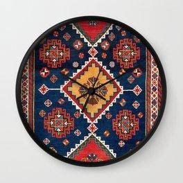 Luri Gabbeh Fars Southwest Persian Rug Print Wall Clock