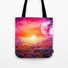 Purple Landscape XXI Tote Bag