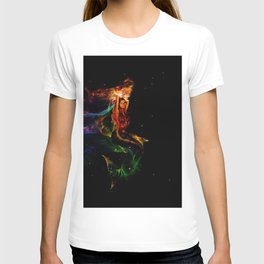 Cosmic Mermaid ... Self Portrait T-shirt