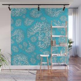 Dandelion Fluff Wall Mural