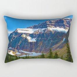 Mt. Edith Cavell in Jasper National Park, Canada Rectangular Pillow