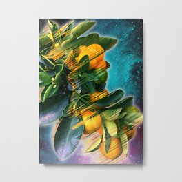 Small fruit tree in outer space Metal Print
