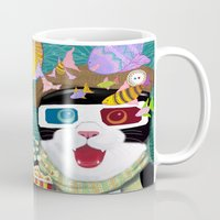 3d Mugs featuring 3D by Tummeow