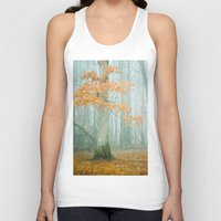 woods Tank Tops featuring Autumn Woods by Olivia Joy StClaire