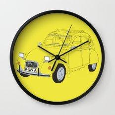 Citroën 2CV Wall Clock