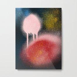 Abstract Spray Paint Art Street Culture  Metal Print