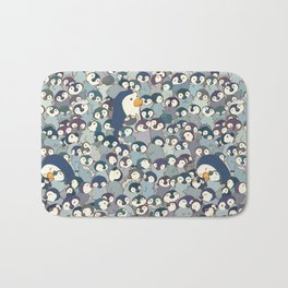 Baby Penguin Pattern Bath Mat