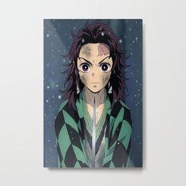 Kimetsu No Yaiba Metal Print