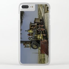 Transcontinental Clear iPhone Case