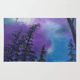 Blissful forest Rug
