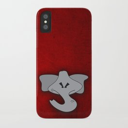 Enraged Elephant iPhone Case