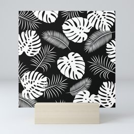 TROPICAL LEAVES 6 Mini Art Print