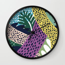 Jungle Fever 2 Wall Clock