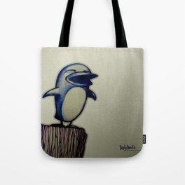 Daily Doodle - Linux Tote Bag