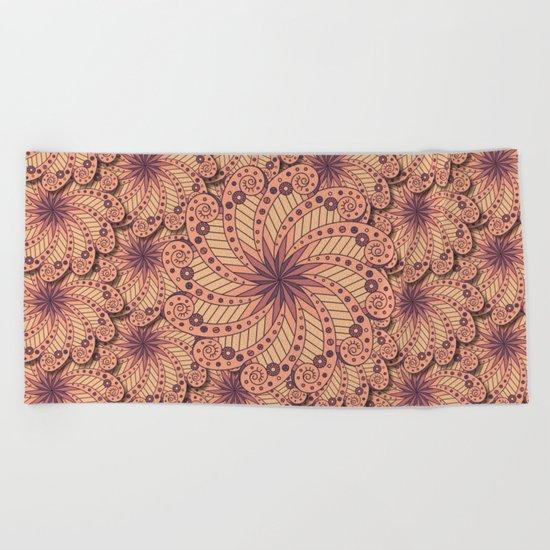 Brown Beach Towel