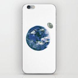 unrealistic earth. iPhone Skin