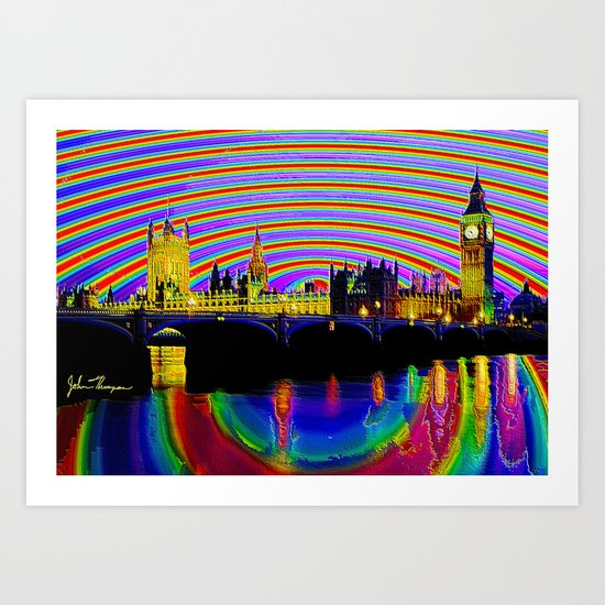 Big Ben fancy Art Print