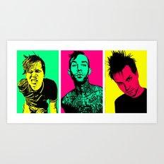 Blink-182 Art Print